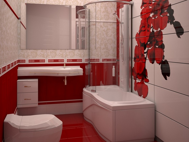 Red And White Bathroom Decor Tips For Your Home
