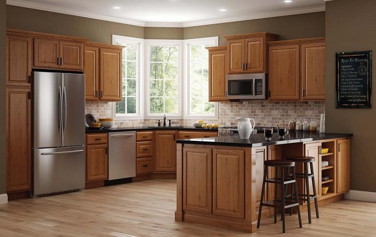 Grey Kitchen Paint Colors With Oak