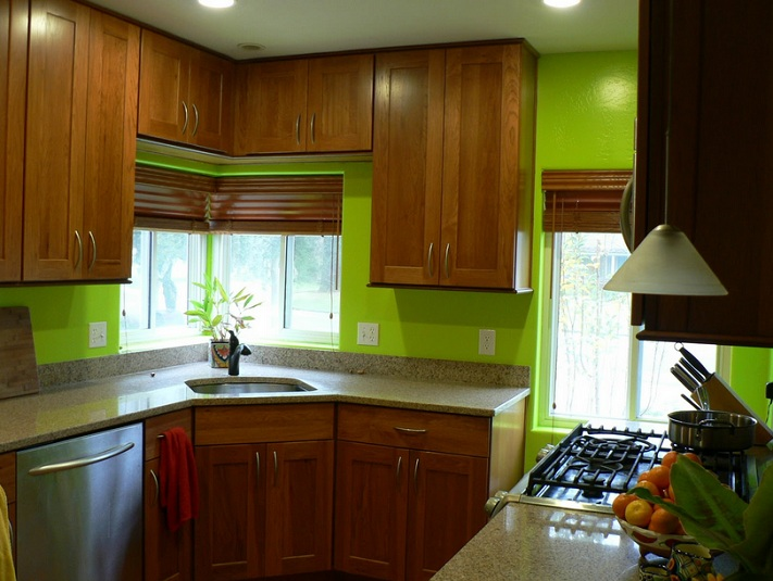Paint Colors Ideas For Small Kitchens With Oak Cabinets Decolover Net