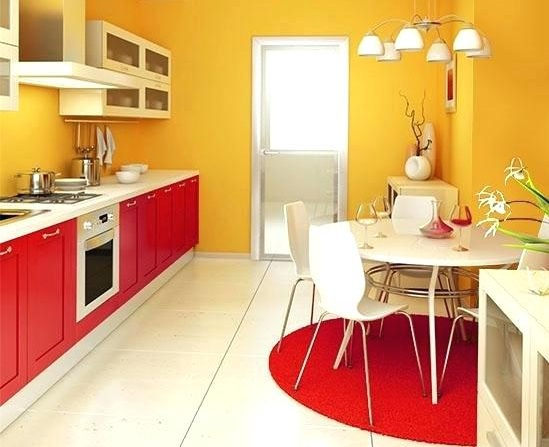 Red And Yellow Kitchen Decor Ideas For Bright And Colorful Kitchens