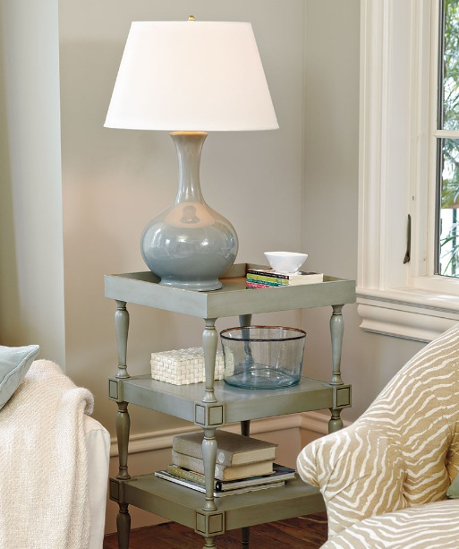 End Table Decorating Ideas With Ceramic