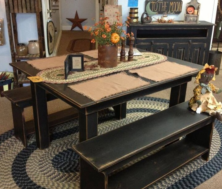 Primitive Country Table Centerpieces