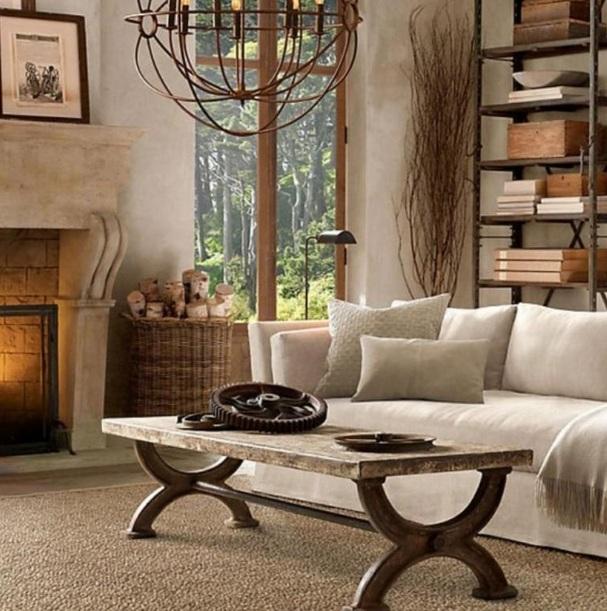 Rustic Table Leg Ideas For Living Room Decor