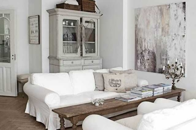 Shabby Chic Living Room Ideas On A